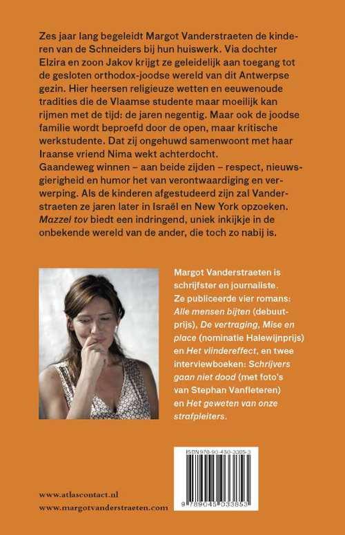 Mazzel tov de nieuwe roman Margot Vanderstraeten